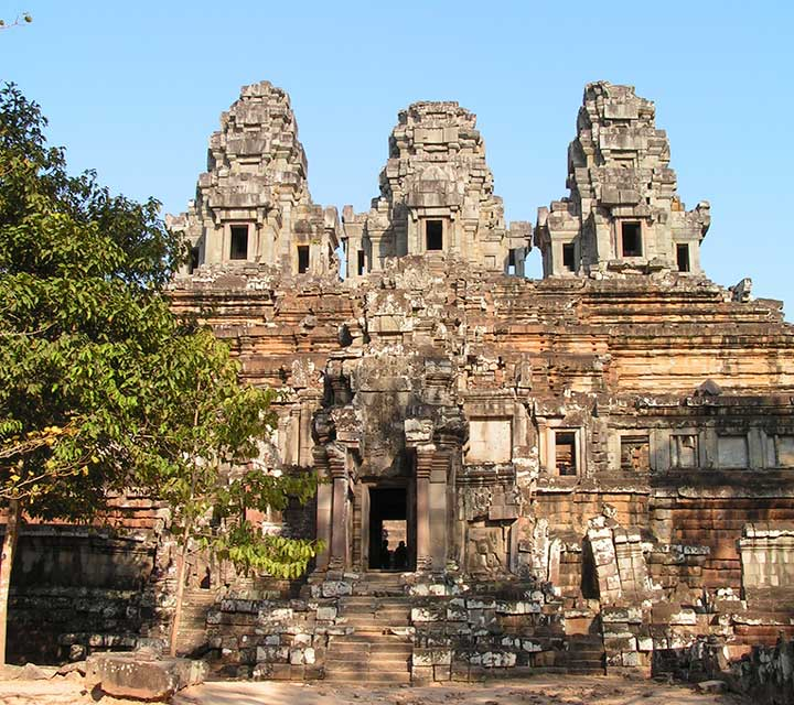 Angkor Temples with Khmer Lunch