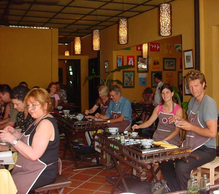 Vietnamese Cooking Class with Market Visit