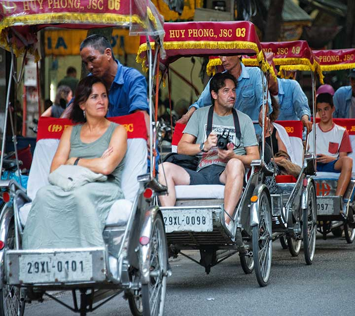Hanoi Sightseeing with cyclo Tour