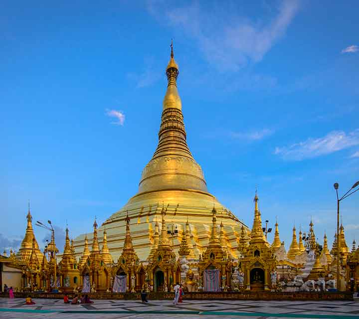 Golden land of Yangon