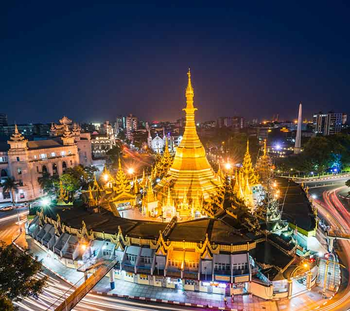 Beautiful Yangon City Day Tour