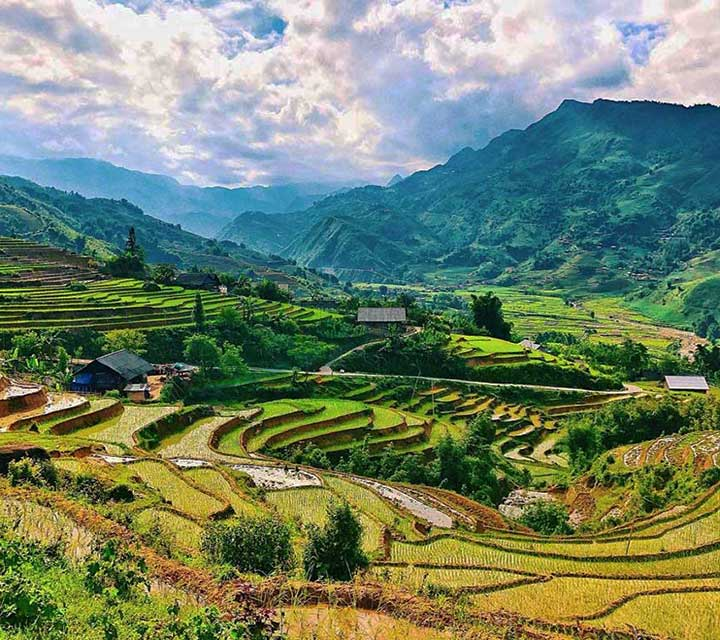 Sapa Northwest to Dien Bien Phu 5 days