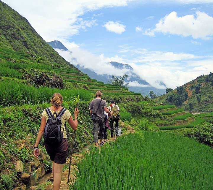 7 days trek though Hoang Lien National Park to Ban Ho valley